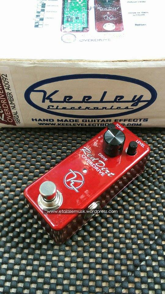 Efek Gitar : Red Dirt Overdrive by Keely